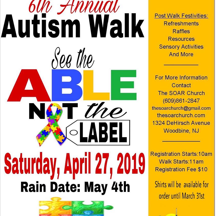 6th Annual Autism Awareness Walk
