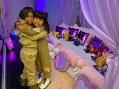 "Ava Foley and Chacha, her dancing bestie, host the ""Ultimate Surprise Sleepover"""