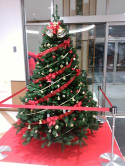 商業施設 クリスマス装飾①