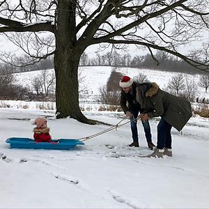 Selina Christmas photos