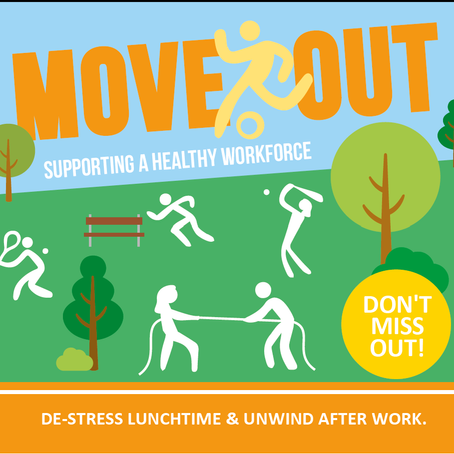 Move Out Events - Supporting a healthy workforce