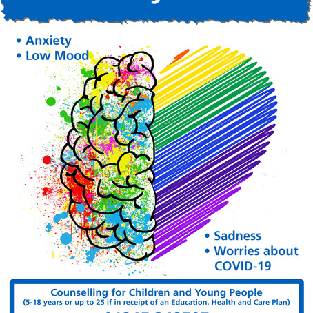 New Specialist Counselling Service for children and young people