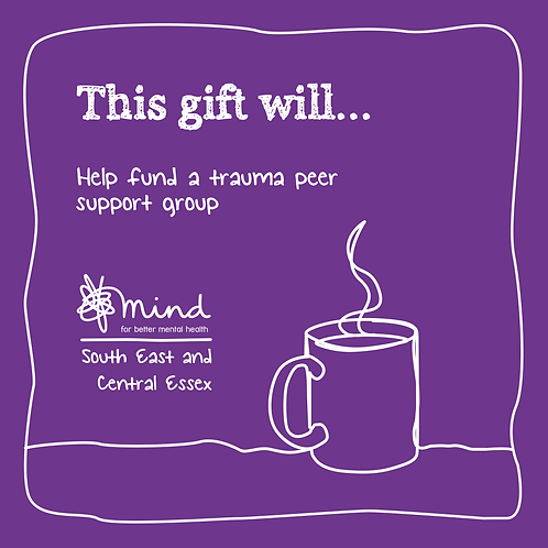 Help fund a Trauma Peer Support Group