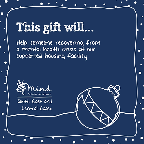 Help fund our Supported Housing