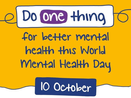 World Mental Health Day #WMHD2020