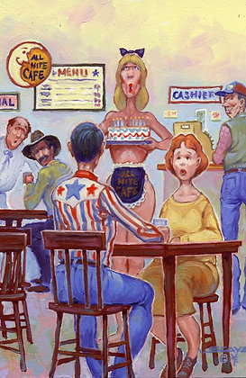 All Night Topless Diner