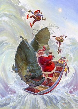 """Wishin' Fishin'   11"""" x 14"""""""