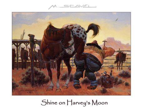 """Shine On Harvey's Moon"""