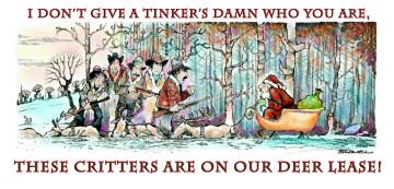 I don't give a Tinker's damn who you are . . .