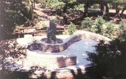 Bronze is installed