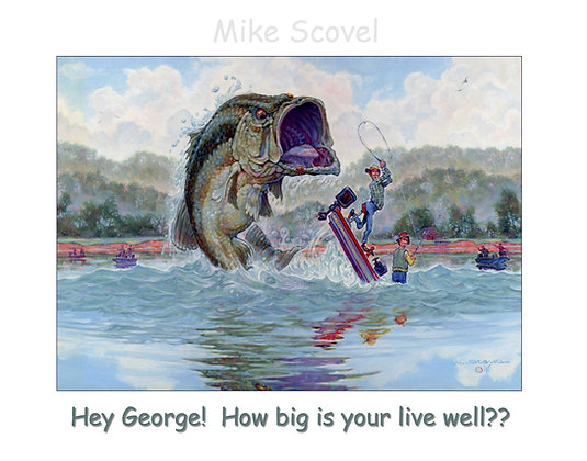 Hey George!  How Big is Your Live Well?