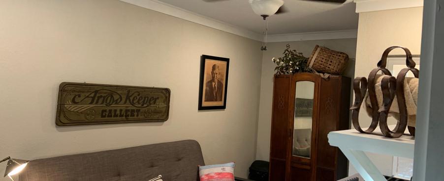 Hideaway futon kitchenette
