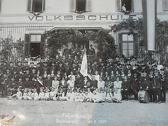 Fahnenweihe 1913