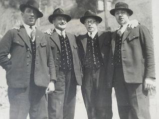 Quartett MGV Seeboden 1934