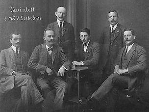 Quintett MGV-Seeboden 1924