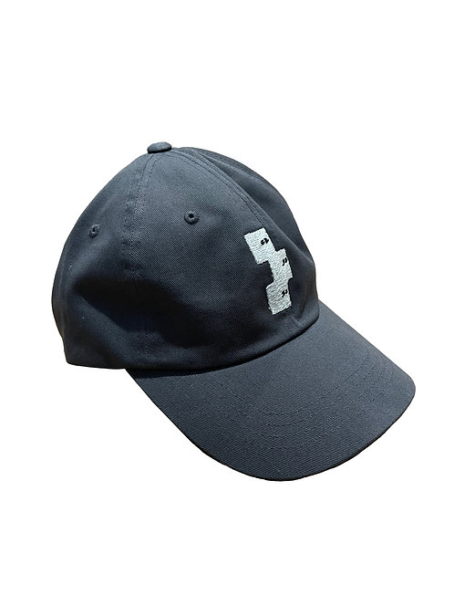 GREY LOGO BASEBALL HAT