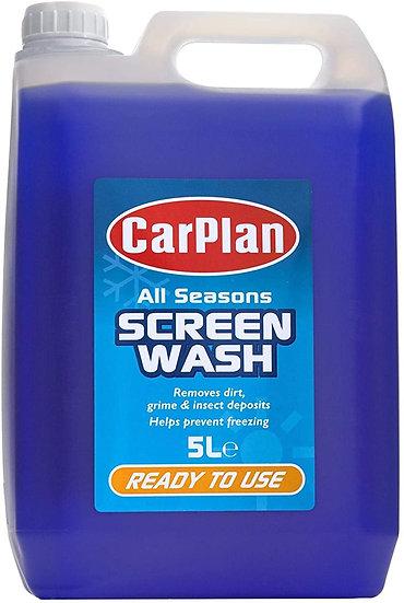 Carplan Ready Mix Screenwash 5ltrs All Season
