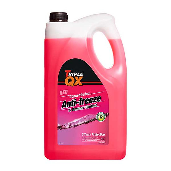 TRIPLE QX Red (Concentrate) Antifreeze/Coolant 5Ltr