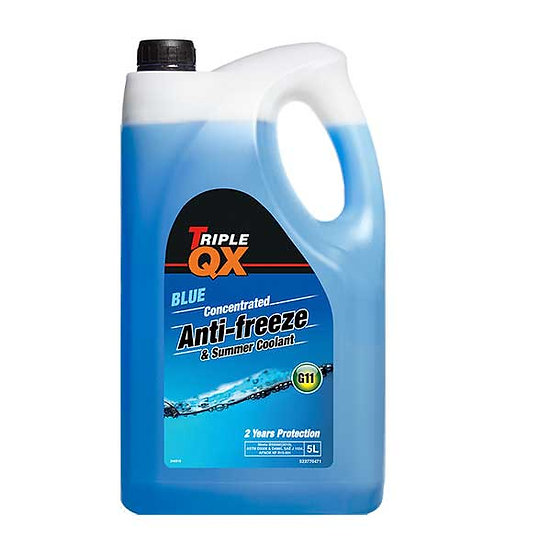 TRIPLE QX Blue Antifreeze/Coolant 5Ltr
