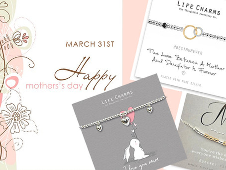 Mothers day - March 31st