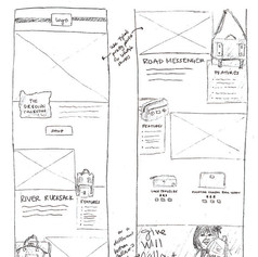 Email Mock Sketches