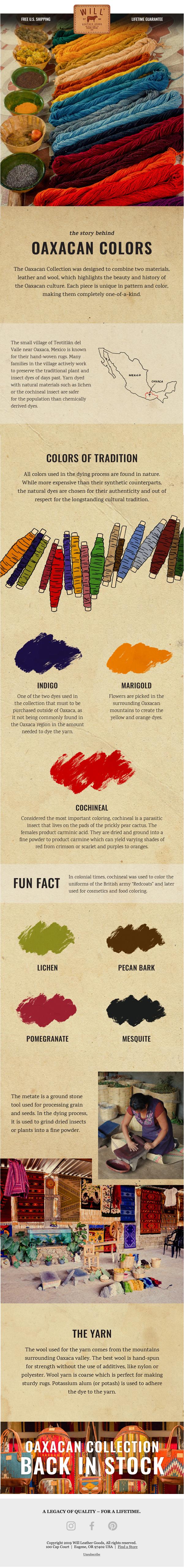 Oaxacan Dyes