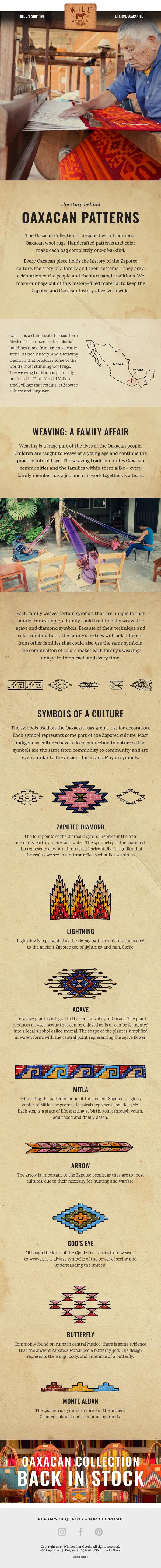 Oaxacan Patterns