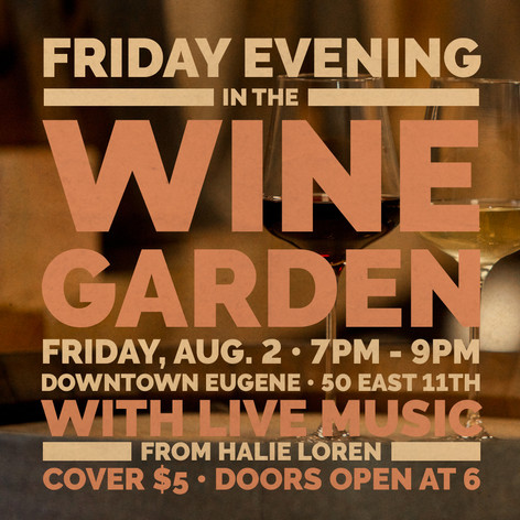 August 2nd - Friday Evening Event