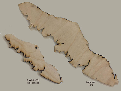 Vancouver Island Wood Cutout Set