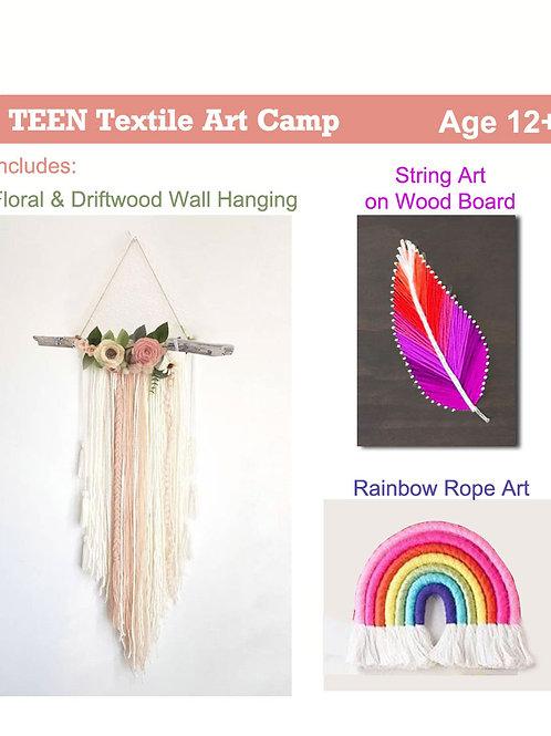 Teen Textile Art Camp - AGES 12+
