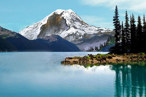 Serene Mountain