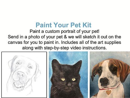 Paint Your Pet Kit