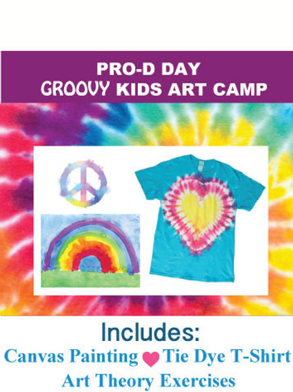 Groovy Kids Art Camp ~ SOLD OUT