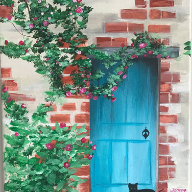 French Cottage Door