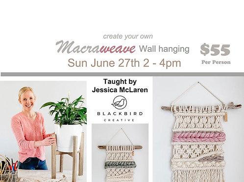 Macraweave Wall Hanging Class