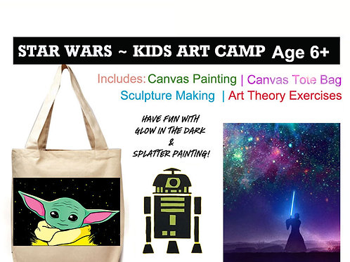 Star Wars Kids Art Camp - AGES 6+