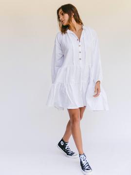 Avalon White Dress