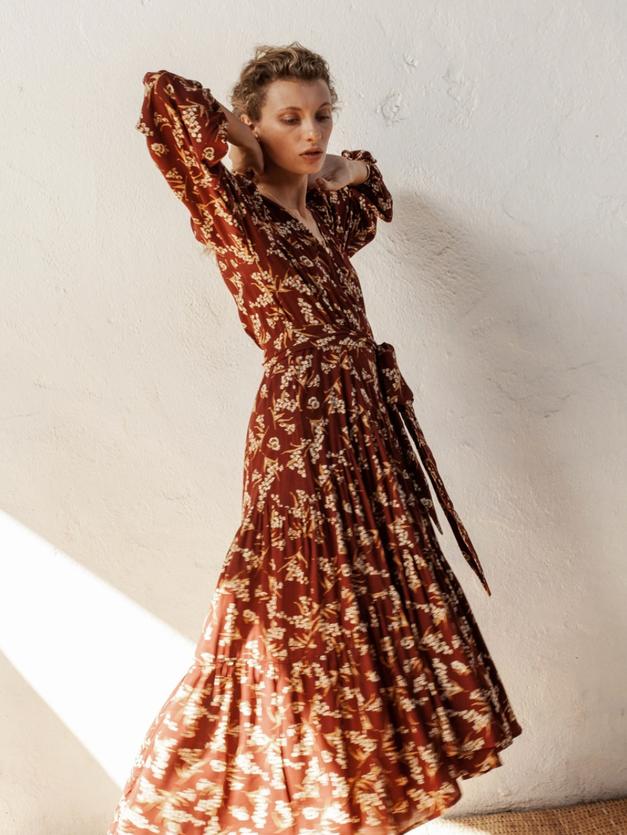 Kate Wrap Dress