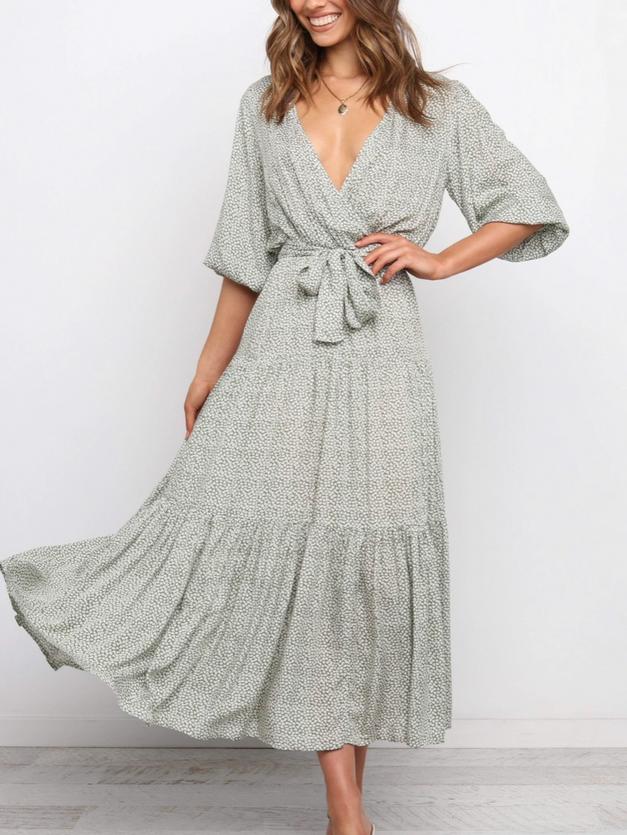 Abbey Sage Dress