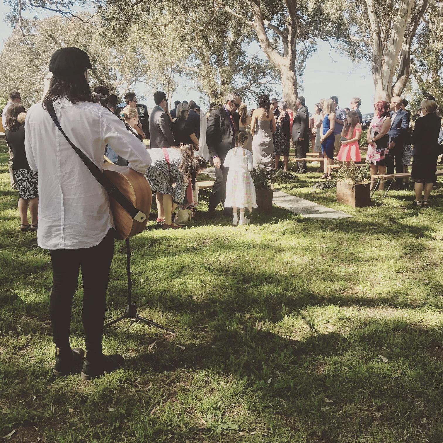 Wickes Wedding, Freshwater Creek
