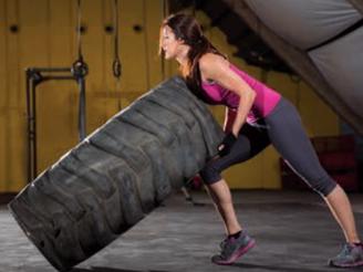 Crossfit: Zirkeltraining mit LKW-Reifen und hohem Fun-Faktor!