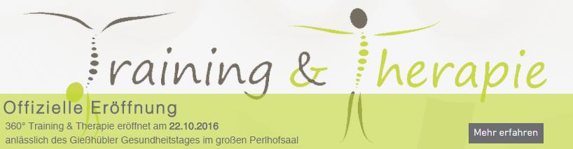 Training & Therapie am Gießhübl Offizielle Eröffnung