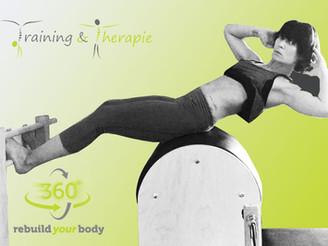 NEWS & ANGEBOTE: 360° Training & Therapie | Gerätepilates- und Mattenpilates  - Eröffnungsan