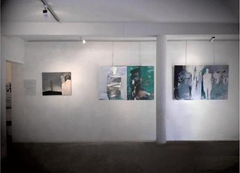 Laurence Briat | exposition peinture | galerie HDNick | Aubais | acrylique sur toile | présences | humains | figure humaine |