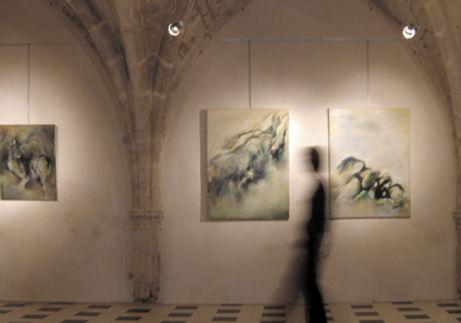 Laurence Briat | exposition l présence humaine | passage l galerie saint Ravy | Montpellier l