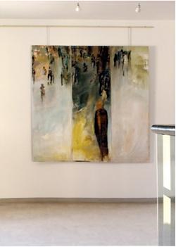 Laurence Briat | peinture sur toile | tryptyque l grand format | France l