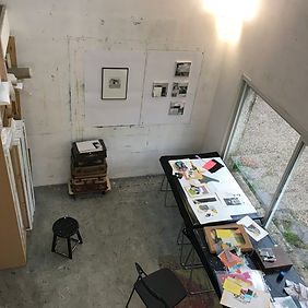 Atelier Laurence Briat | work in progress | collage | couleur |