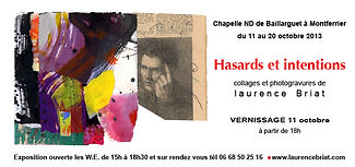 Laurence Briat | Exposition | Hasards et Intentions | Photomontage |