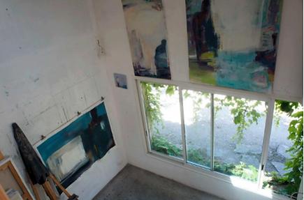 Laurence Briat | atelier | peinture grand format |