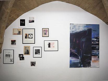 Laurence Briat l exposition l N5 galerie l hors séries | Montpellier l peinture l techniques mixtes l